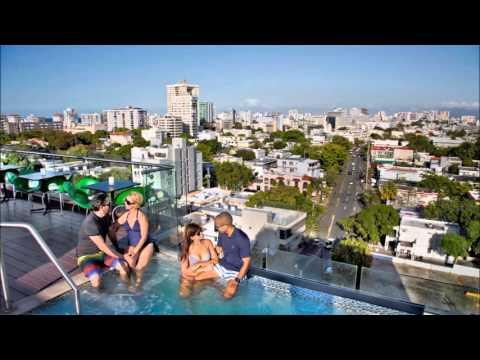 CIQALA Luxury Suites - San Juan Rooftop Terrace & Pool Bar