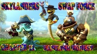 Skylanders Swap Force Chapter 11 Fantasm Forest part 2