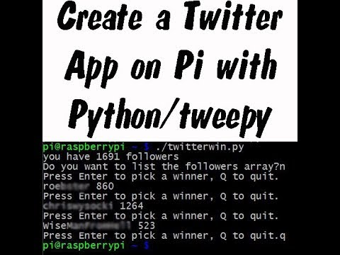 How to Extract tweets form Twitter through Hashtag using Python API (Part  2)   Store in Database