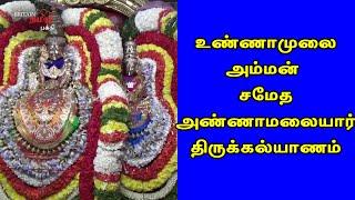 உண்ணாமுலை அம்மன்  சமேத அண்ணாமலையாருக்கு திருக்கல்யாணம்  | Thiruvannamalai | Britain Tamil Bhakthi