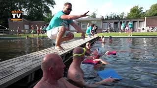 Eerste training Swim to fight cancer in Hollands Kroon