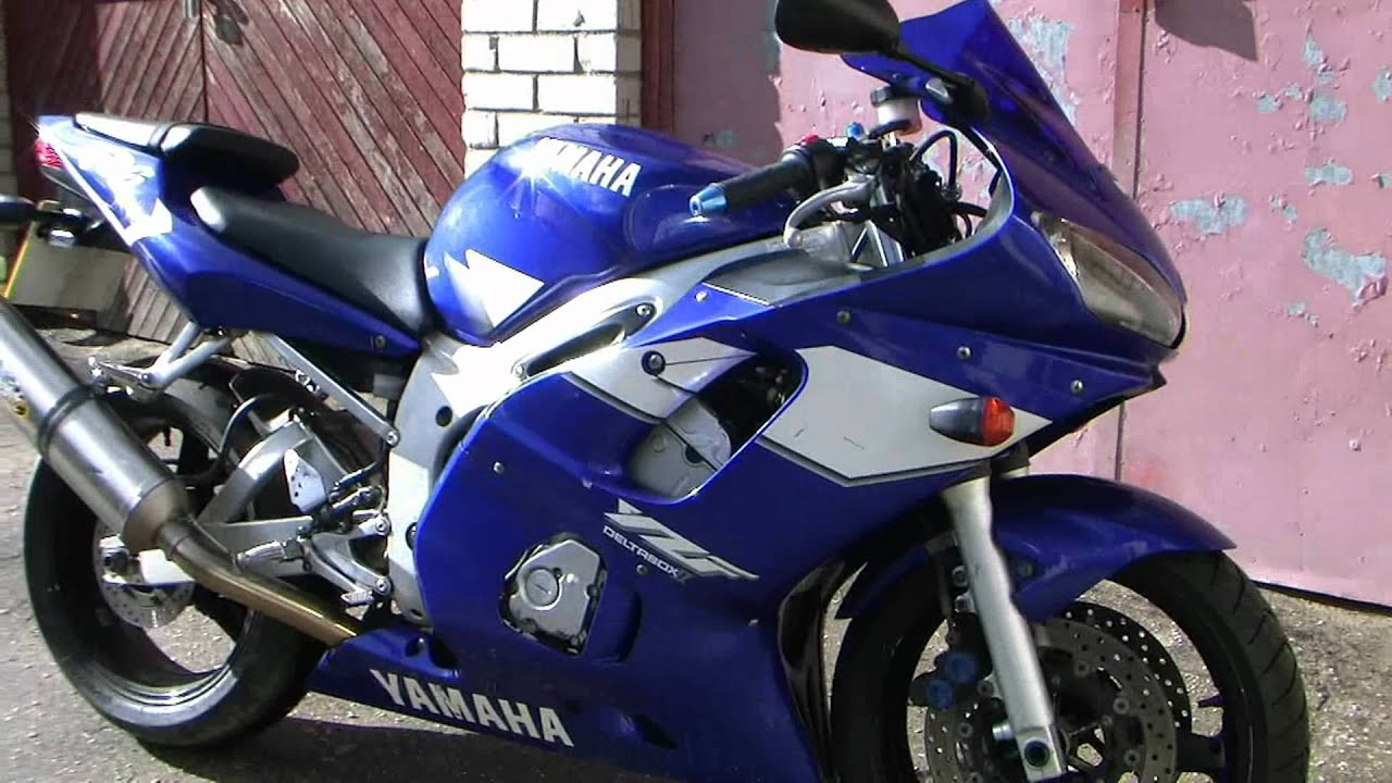 Yamaha Yzf R6 2000 Year Model Youtube