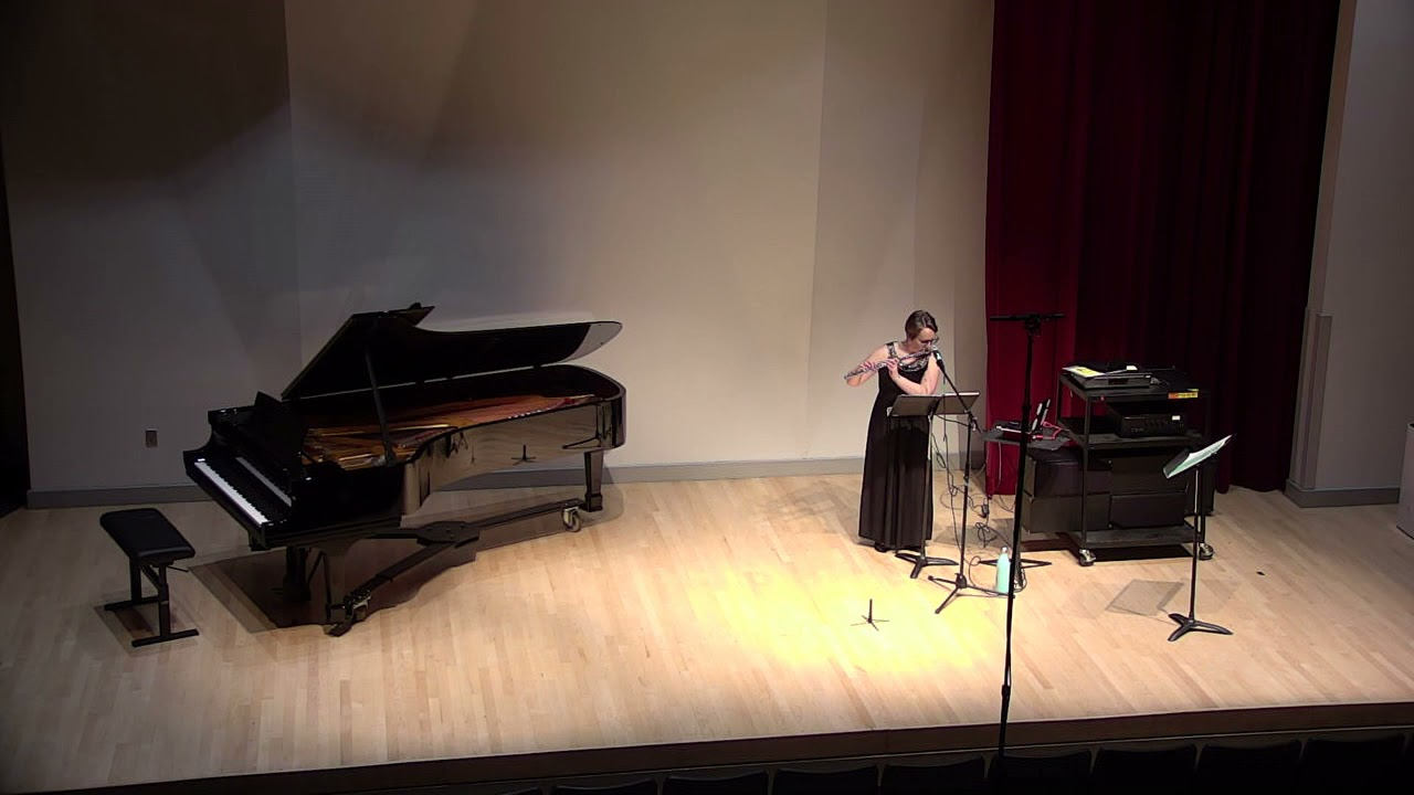 Atmosphere for flute and electronics- Dr. Kelly Catlin