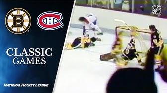NHL Classic Games: Canadiens send Bruins home in 1979 Semi-Final