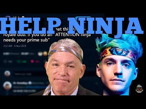 ATTENTION ⚠⚠⚠ All Fortnite Gamers Ninja needs your Help