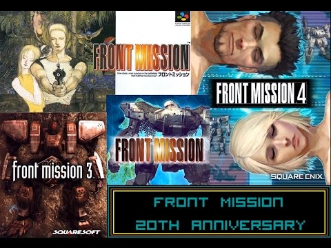 Front Mission 20th Anniversary Retrospective