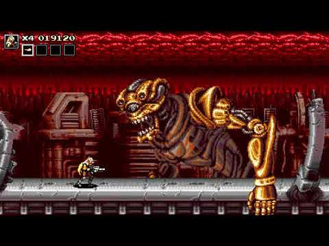 Blazing Chrome Game Play Stage 1 |