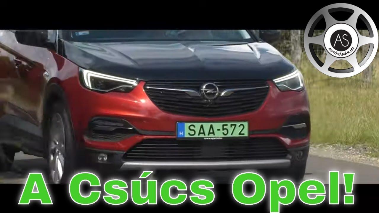 Olcsóbban, mint a franciák! Opel GrandlandX Hybrid4 teszt - AutóSámán