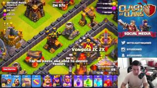 MYSTIC7 Plays THE MAZE VS NEW MAXED WIZARDS! Clash of Clans New Update Maze Base Challenge!
