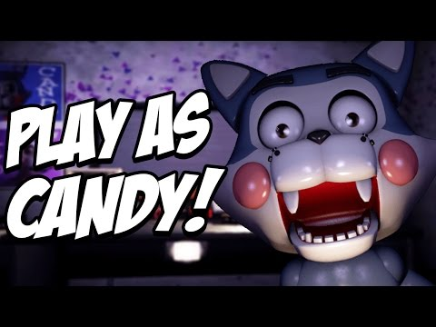 Five Nights at Candys Simulator: Part 1 - PLAY AS CANDY AND ALL ANIMATRONICS!