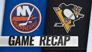 Kessel, Letang power Pens to 6-2 win against Isles