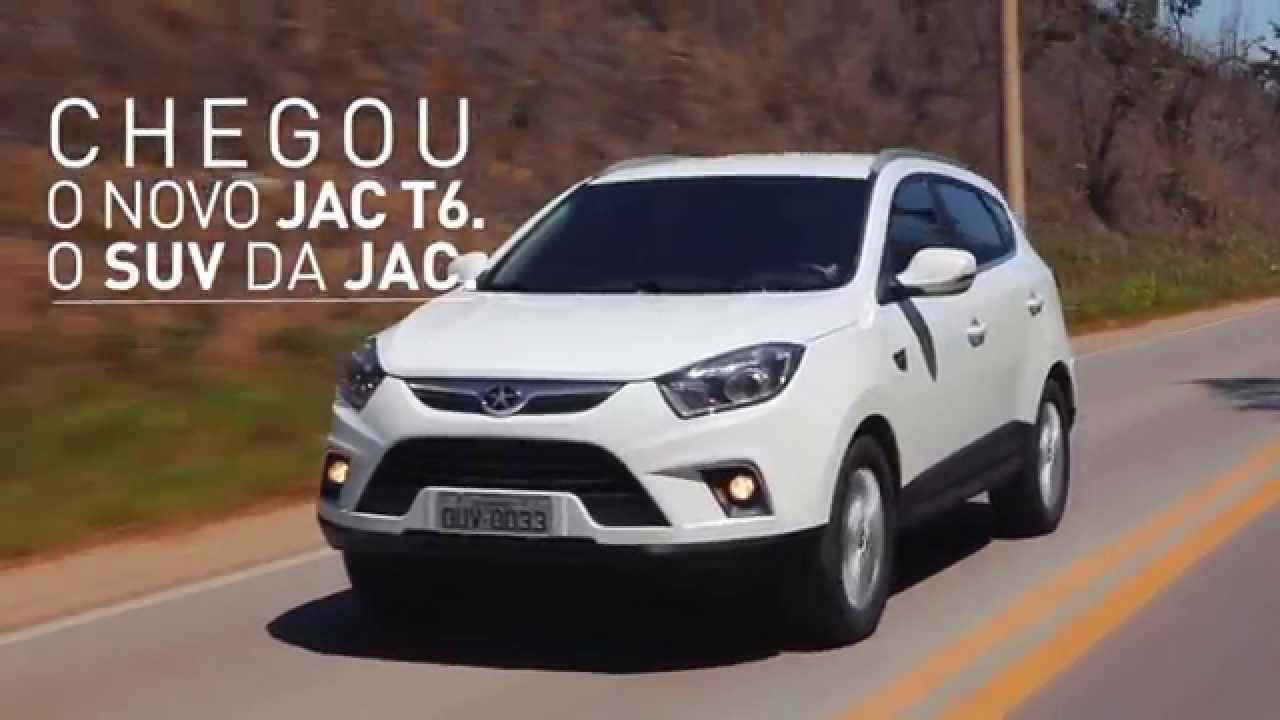 Novo Jac T6 O Suv Da Jac Motors Youtube
