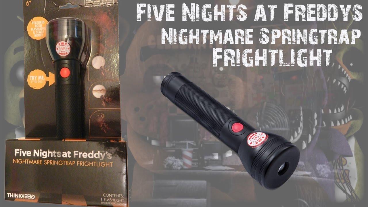 Five Nights at Freddys Flashlight Nightmare Springtrap Jump Scare