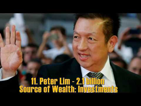 Top 20 Singaporean billionaires