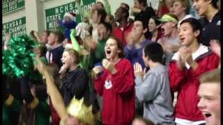 Repeat youtube video Cardinal Gibbons Boy's Basketball Silent Night Game 2013