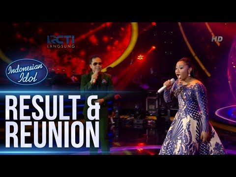 MARIA ft. SANDHY SONDORO - MEDLEY SONG - RESULT & REUNION - Indonesian Idol 2018