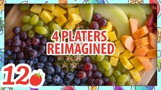 4 Fruit Platters reimagined