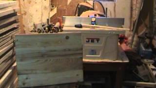 как сделать станок для изготовления шпунта