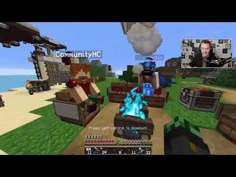 Syndicate CaptainSparklez & Lrakinidas Minecraft Funny Moments (ft Garry)