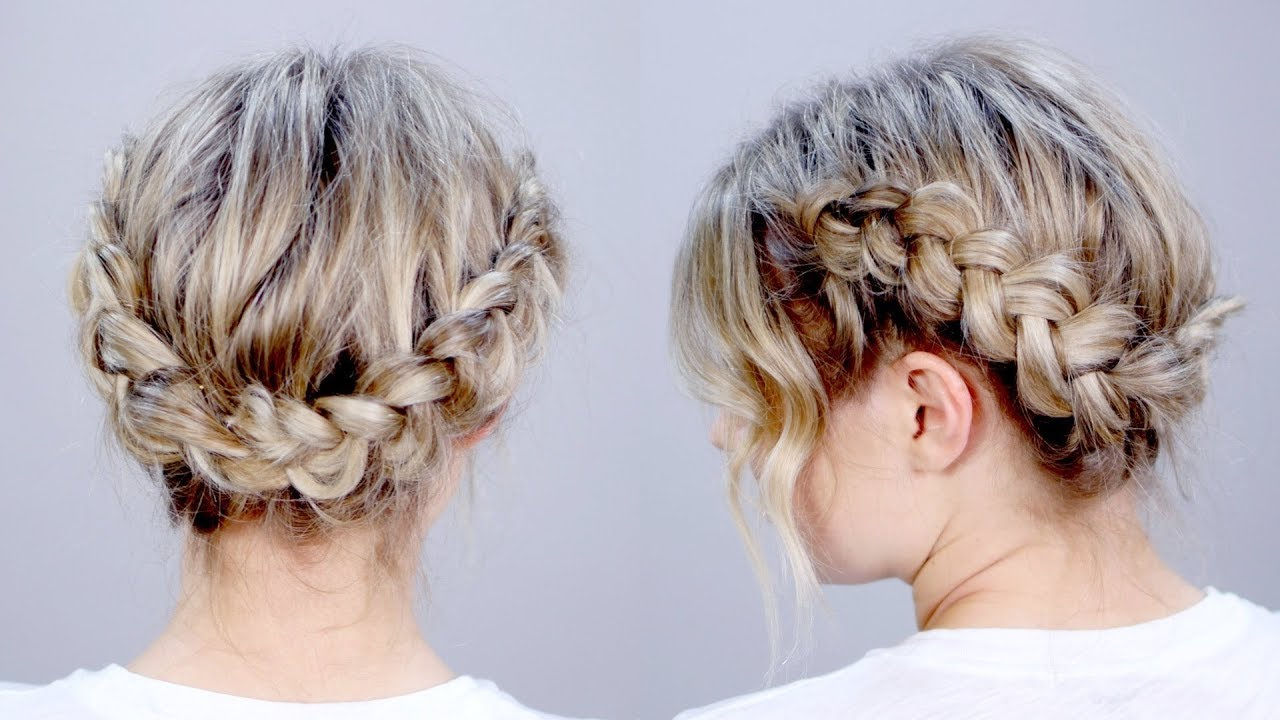 Hairstyle of the day super cute braid hairstyle updo milabu hairstyle of the day super cute braid hairstyle updo milabu pmusecretfo Image collections