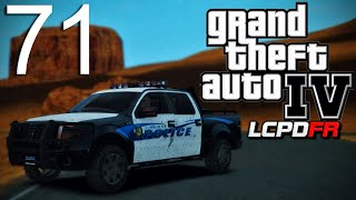 GTA 4 LCPDFR v1.0 - Episode 71 - Red Dead Desert Patrol! Part 2