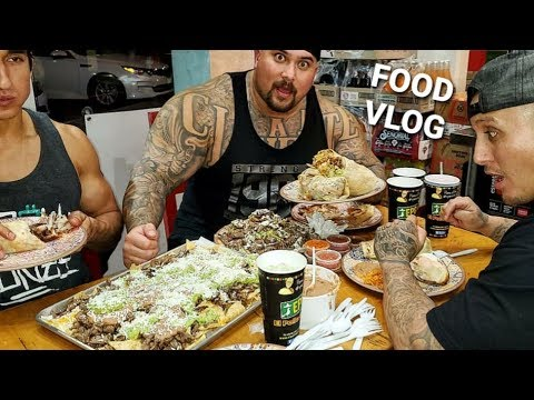 FOOD VLOG | BIG BOY EATS ENOUGH MEXICAN FOOD TO FEED A FAMILY