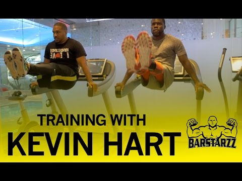Kevin Hart Trains with Barstarzz