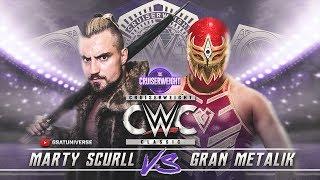 WWE 2K18 Universe Mode: Cruiserweight Classic - Marty Scurll vs Gran Metalik (PS4 / Xbox One)