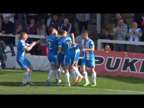 Highlights: Hartlepool United 3 Maidstone United 1