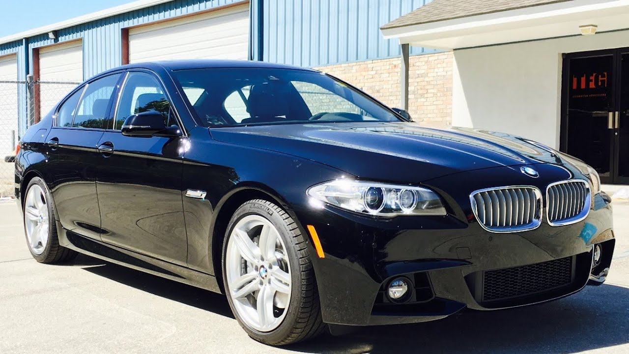 2016 bmw 550i m sport full review, start up, exhaust - youtube