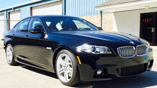 2016 BMW 550i M Sport Full Review, Start Up, Exhaust