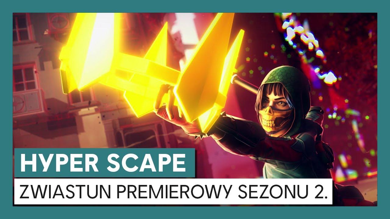 Hyper Scape: Zwiastun Premierowy Sezonu 2.