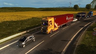 Euro Truck Simulator 2 ne Runde im MP auf EU3 (Multiplayer) (GER) (MAN EURO 6) (EU3 Server)