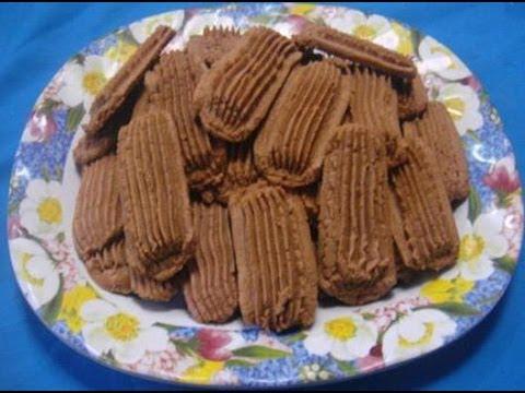Resep dan Cara Membuat Kue Kering Semprit Cokelat(Kue Lebaran ...