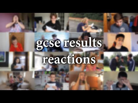 GCSE Results Reactions Compilation
