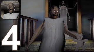 Granny - Gameplay Walkthrough Part 4 - New Update, New Game Over and The End Scene (iOS)