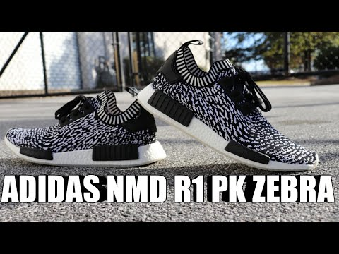 "ADIDAS NMD R1 PK ""ZEBRA/SASHIKO"" REVIEW"
