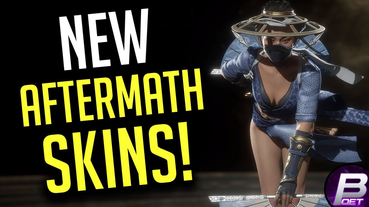 Mortal Kombat 11 New Summer Heat Skin Pack Showcase Aftermath