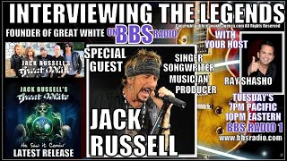 Jack Russell 'Great White'  founder Up Close & Personal