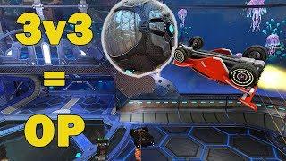 3v3 es lo MEJOR | Rocket League
