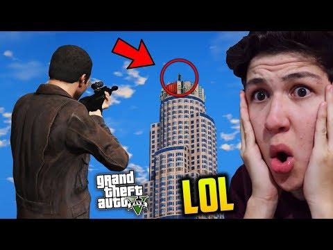¿Puede 1 BALA CRUZAR Todo el MAPA de GTA 5? Grand Theft Auto V - GTA V thumbnail