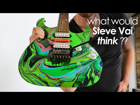 I Built & HYDRO-DIPPED a JEM Guitar...what would Steve Vai think?