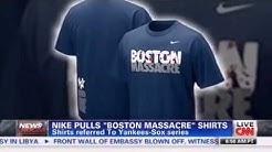 Nike Pulls 'Boston Massacre' T-Shirts After Marathon Bombings