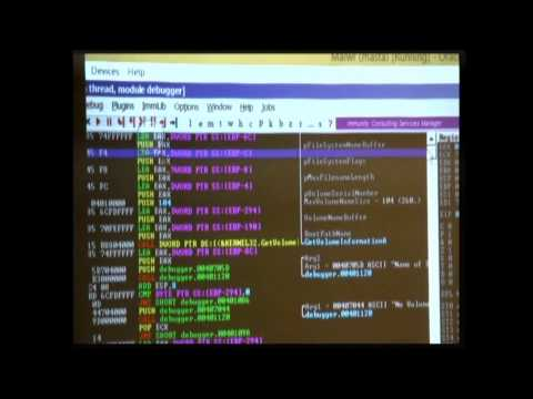 Reverse Engineering Malware For Newbies ToorCon 16