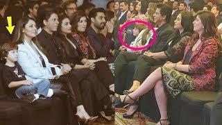 Abram Khan enjoying With Shahrukh Khan and Gauri Khan celebration KKHH 20 year celebration