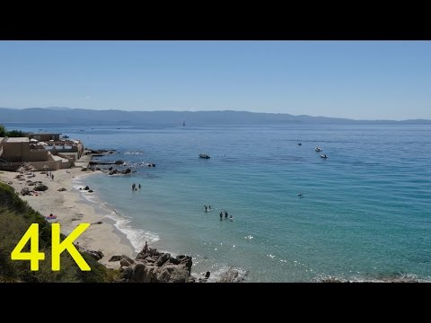Ajaccio Corsica, Amazing 4k video ultra hd FZ300