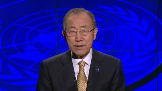 Ban Ki-moon, on the occasion of the United Nations Day (2014)