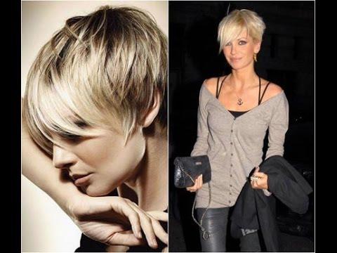 Модная короткая стрижка Пикси \ Women's short haircut