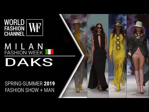 Daks | Spring-summer 2019 | Milan fashion week + men's