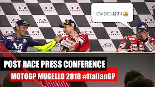 MotoGP Mugello 2018 | Post Race Press Conference #ItalianGP